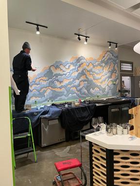 Mural Inprogress