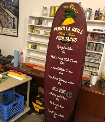 PARRILLA GRILL MENUS
