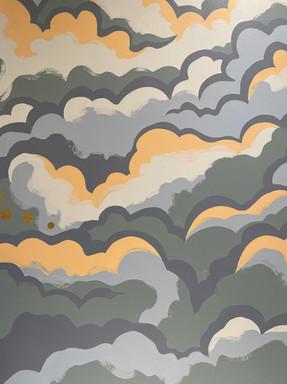 Cloud Mural by Vivi Design Co.