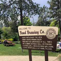 BEND BREWING CO. RULES SIGN