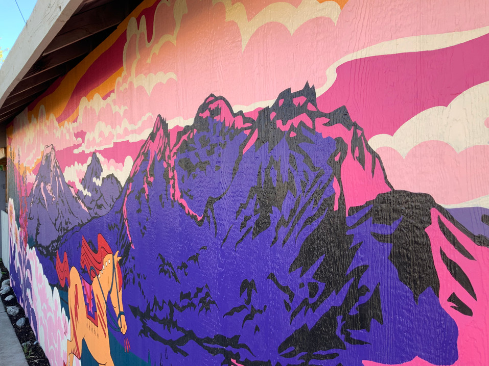 Cottonwood Cafe Mural