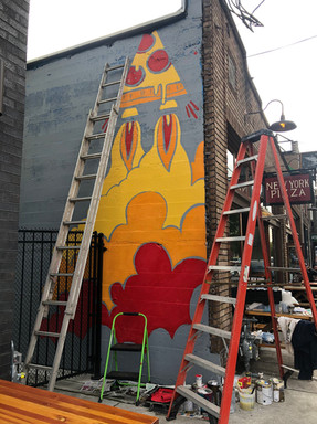 SFNY BELMONT MURAL PROCESS