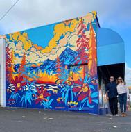 Dr. Jollys Mural Painters Josh Ramp & Ja