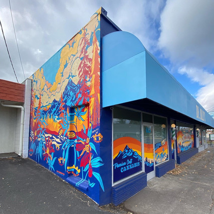 Dr. Jollys Mural and Storefront Window G