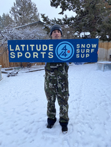 LATITUDE 44 SPORTS DOUBLE SIDED HANGING SIGN ARTIST JOSH RAMP