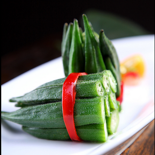 9004 Blanched Okra