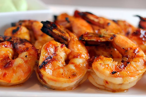 Cooked Prawn, Tail On