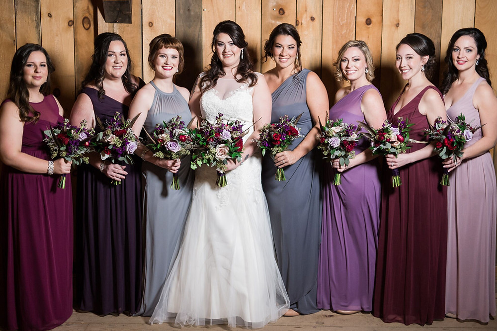 10 Person Bridal Party (mom's not in pic) by Diva Me Bella