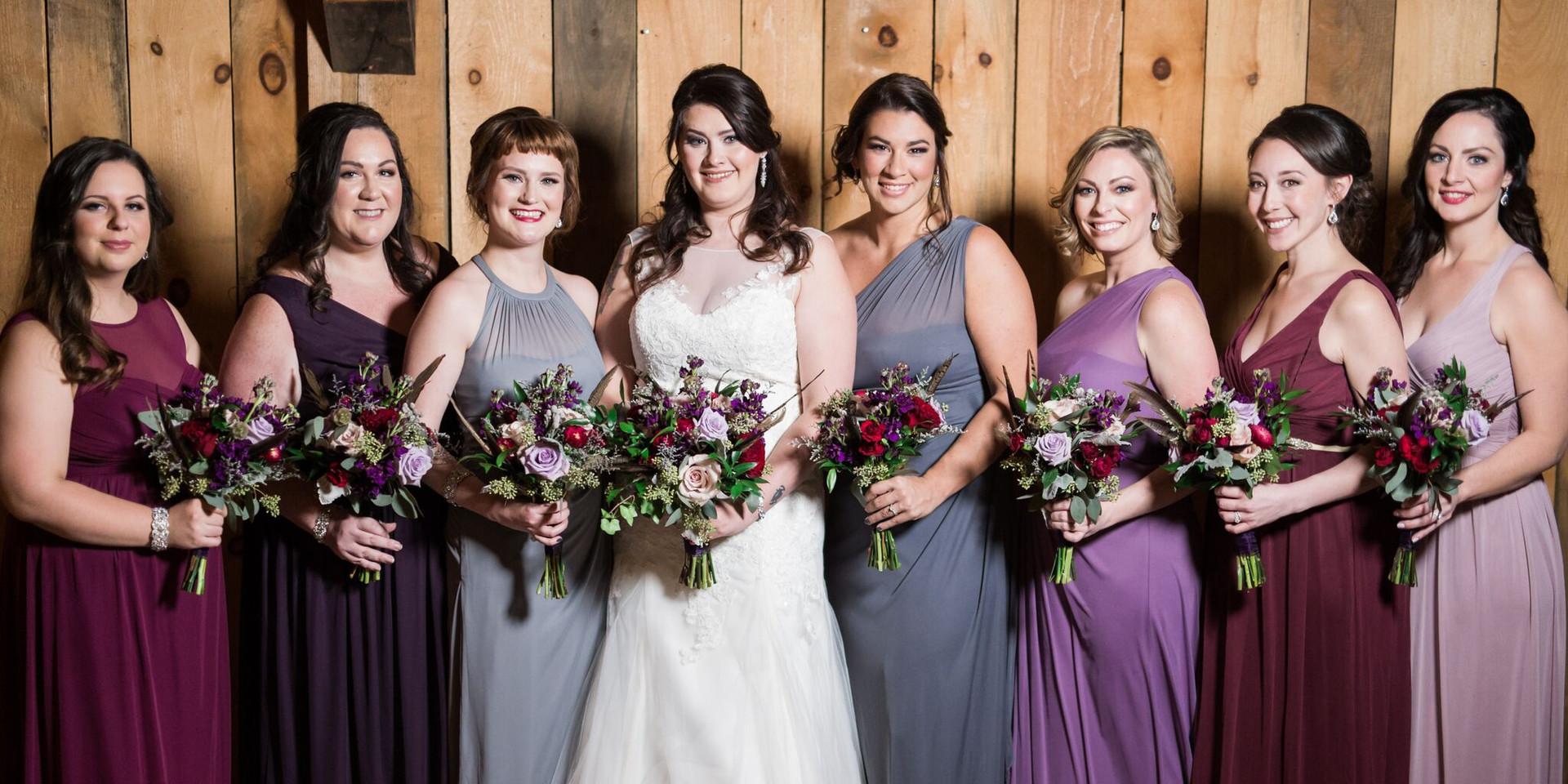 Wedding Party Mua's Danielle and Lorraine