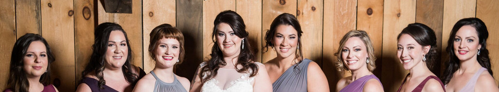 Wedding Party Mua's Danielle and Lorraine