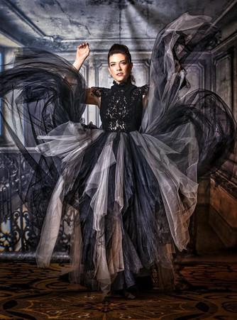 Dark Edgy Bride