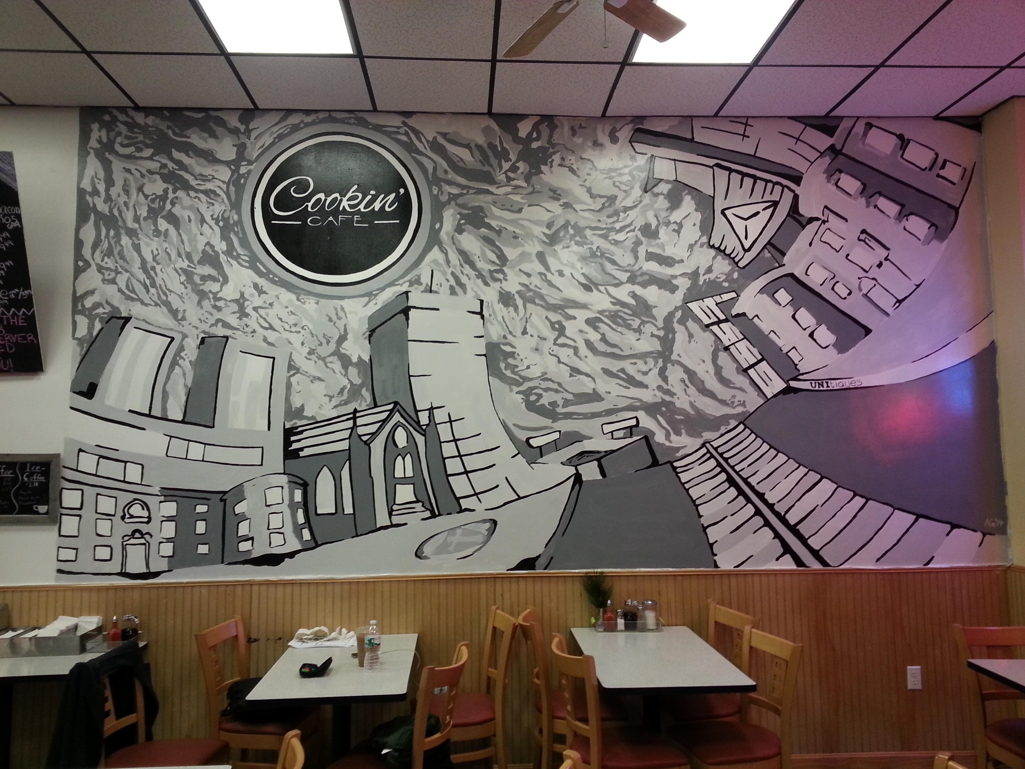 Cookin'Cafe Mural