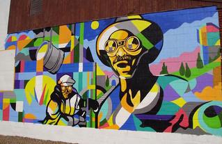 Murals, Murals, Everywhere- Remembering Workers, Remembering Veterans