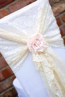 Lace sashes