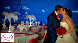 Marine Aquarium wedding