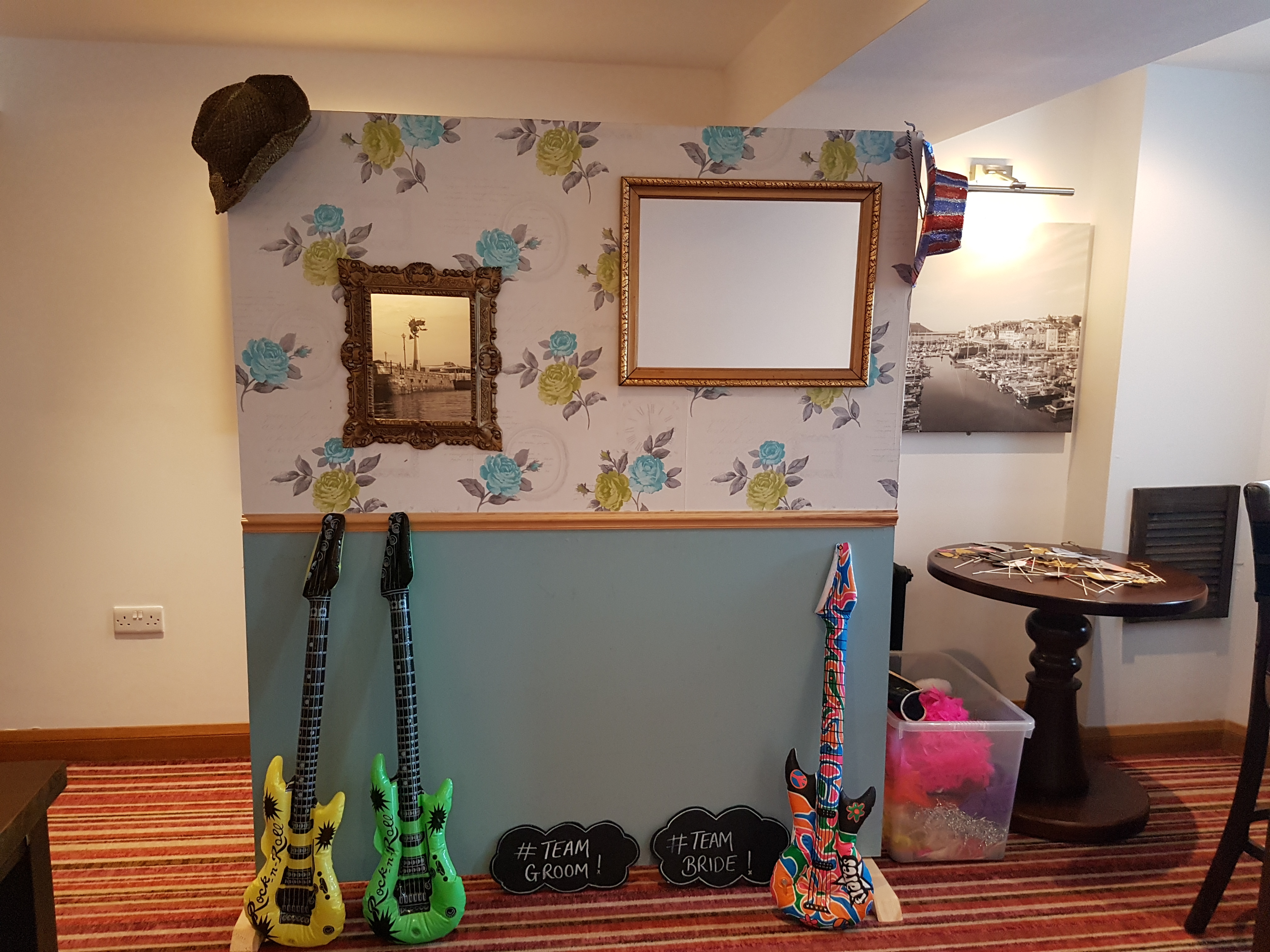 Photo booth stand & prop hire