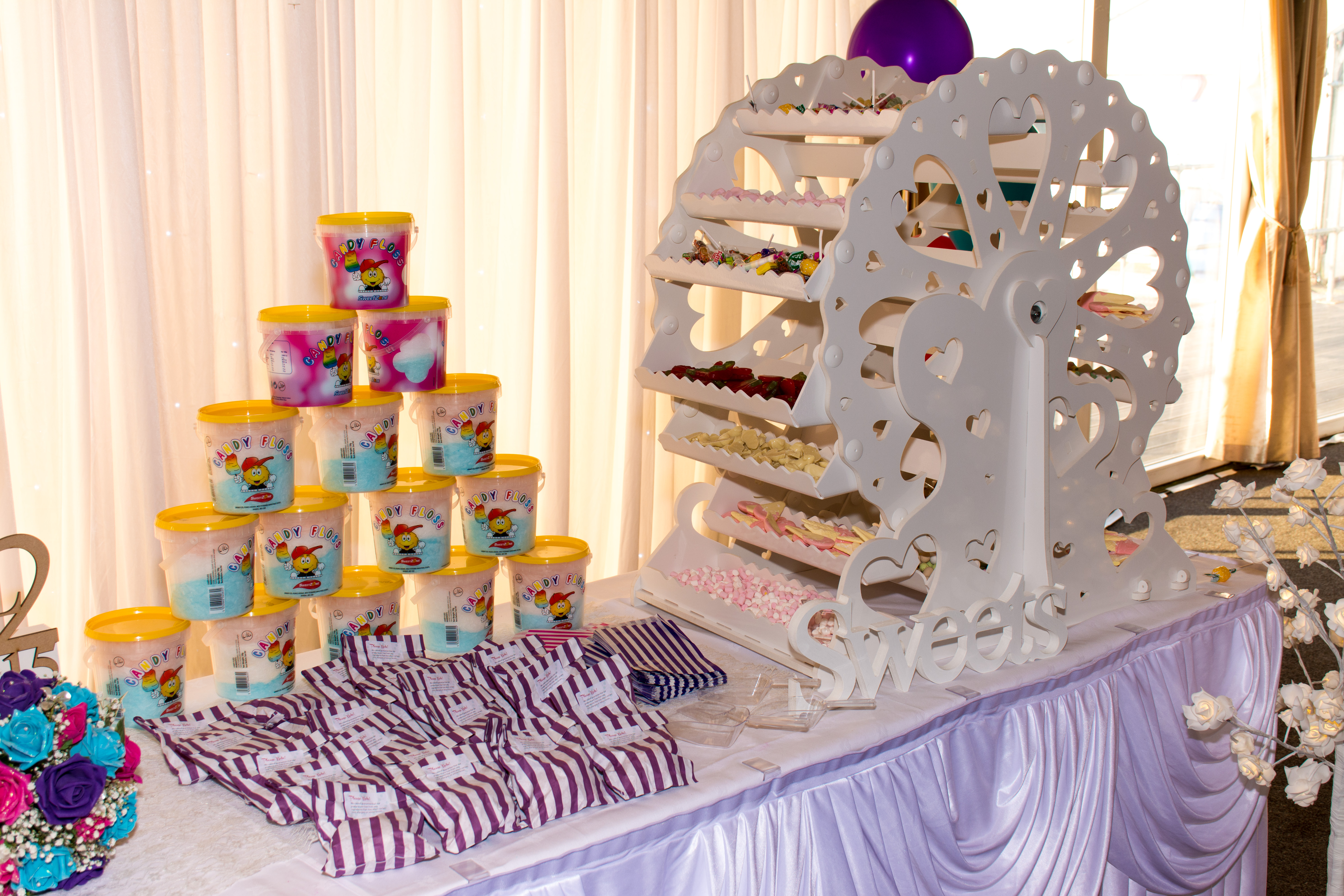 Wedding sweet carousel