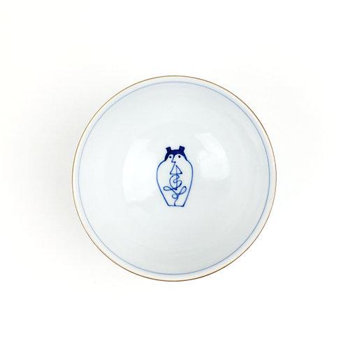 [50005]御飯茶碗大 寿福老【6月7日(月)より順次発送】
