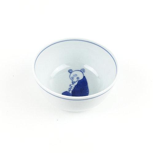 [62001] 汲出碗 笛吹 熊・白【6月7日(月)より順次発送】