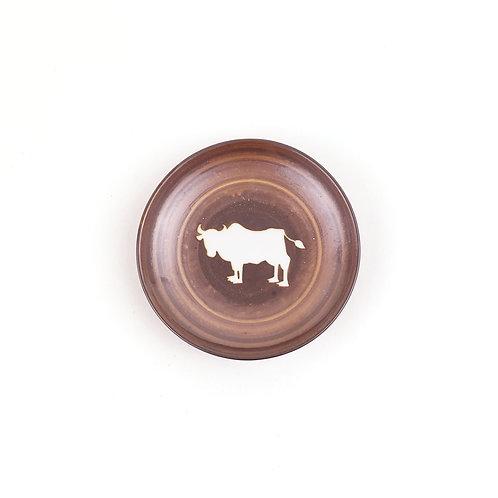 [32002] 三寸丸皿 吸坂・丑【5月17日(月)より順次発送】