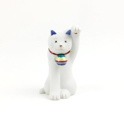 [80001]ちょうえもん招猫 独楽鈴(こますず)・左手【5月17日(月)より順次発送】