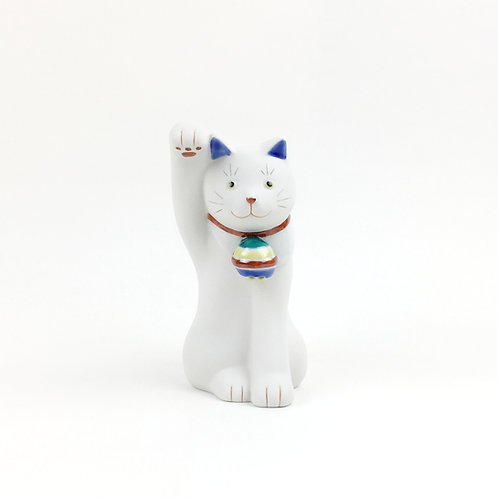 [80002]ちょうえもん招猫 独楽鈴(こますず)・右手【5月17日(月)より順次発送】