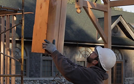 Timber Frame Install