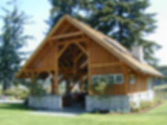 Timber Frame Pavillion