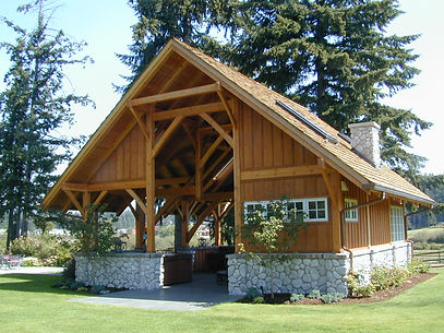 Timber Frame Pavillion