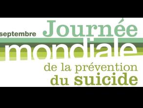 19e Journée mondiale de la prévention du suicide