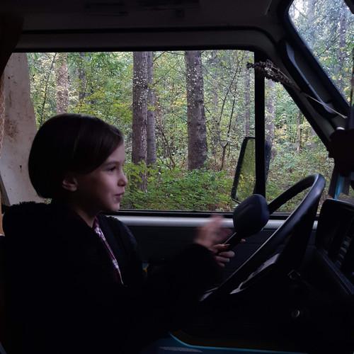 On dirait que je serai conductrice