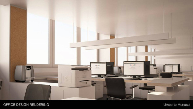 Call center interiors