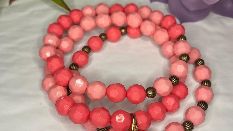 Sherbet Beaded Bracelet