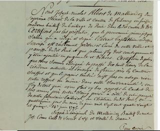 Pierre Joseph Cottet, Garde suisse, combattant Vendéen devenu maire