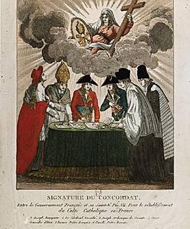 Les conséquences du Concordat de 1801 dans une commune du Bocage