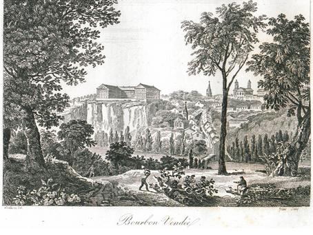 Pauline Léon et sa famille à La Roche-sur-Yon.