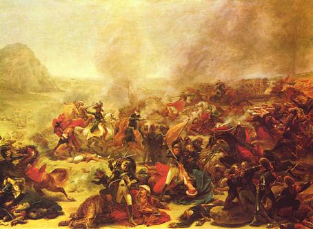 Le combat de Nazareth vu à travers le tableau de Gros