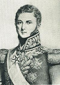La disgrâce du général d'Autichamp