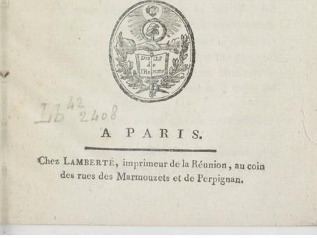 l'imprimeur Théodore Lamberté (1ere Partie)