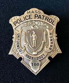 Antique Pewter badge