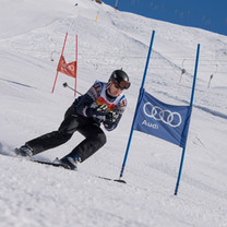 Ski slalom on Ski Week