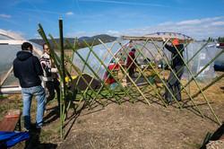 atelier Flex'yourte en bambous