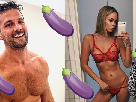 We Can't Get Over Tim Robard's Excuse For Posting An Eggplant Emoji On Tully Smyth's Insta Pic...WTF