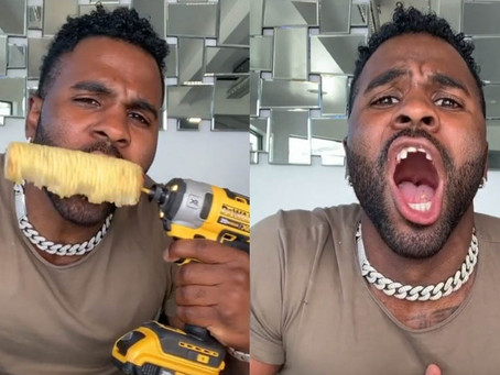 Jason Derulo Just Knocked Out His Front Teeth In TikTok Challenge Video