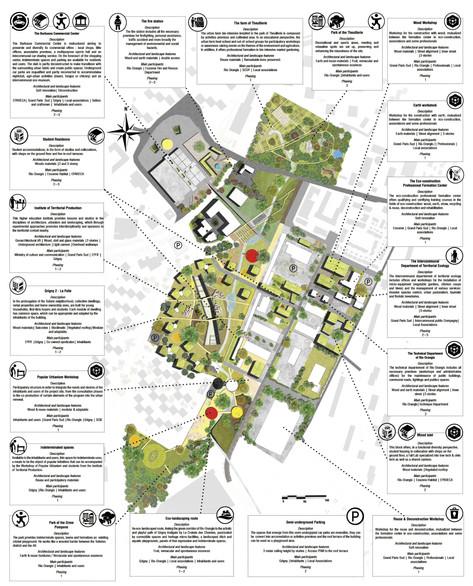 Plan Masse du quartier