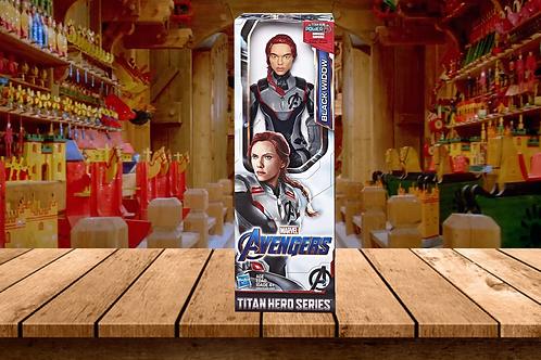 "Avengers Marvel Endgame Titan Hero Series Black Widow 12"""