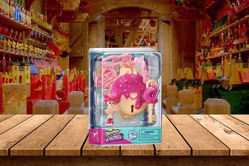 Shopkins Lil Secrets Bag Tag Lockets - Sprinkle Donut