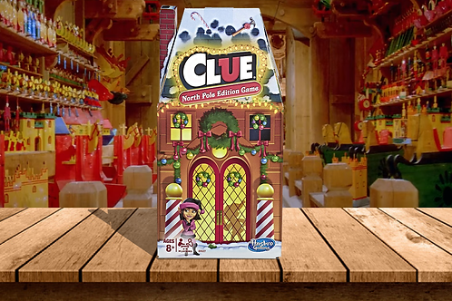 CLUE - North Pole Edition Game