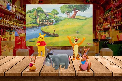 Disney's Winnie the Pooh 5-Piece Playset