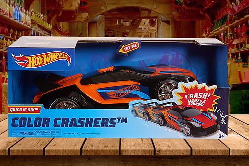 Hot Wheels Race N Color Crash Quick N' Sik